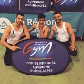 Compétition Gym Logo FFG