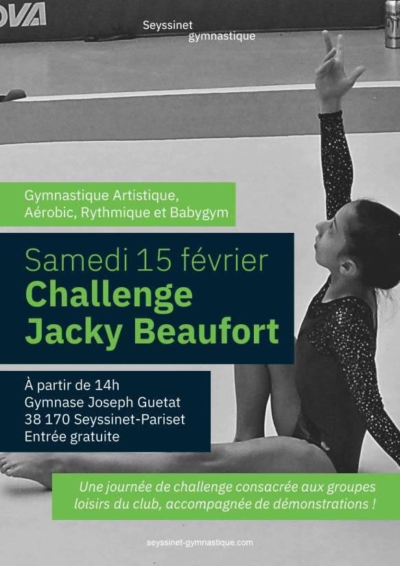 Affiche Challenge 2020